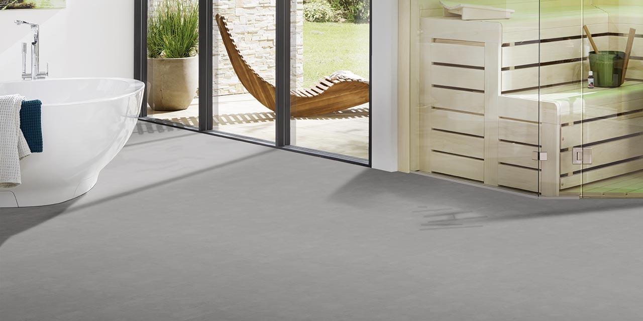Designboden Multilayer Plus (Maragha MY03-18) von Strong SPC von HWZ im Bad- und Wellnessbereich